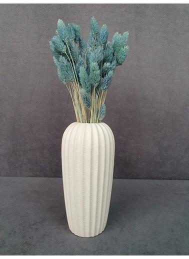 Kuru Çiçek Deposu Kuru Çiçek Kuş Otu 35-40 Cm  Koyu Mor  Mavi